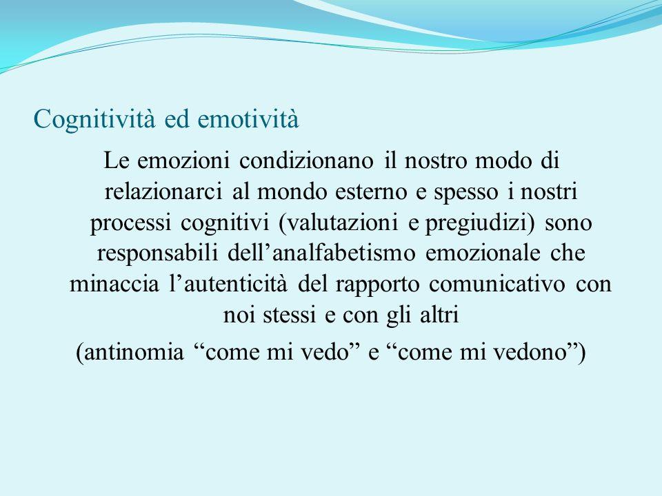 Cognitività ed emotività