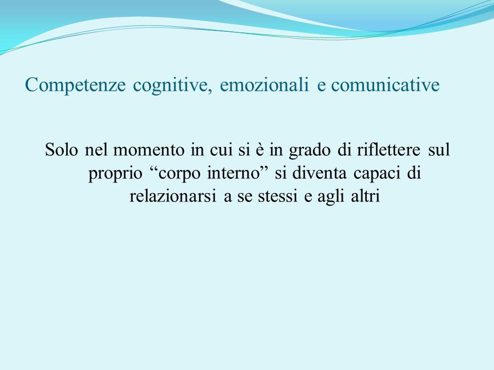 Competenze cognitive, emozionali e comunicative