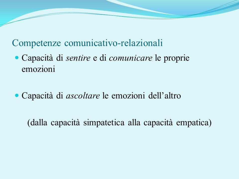 Competenze comunicativo-relazionali