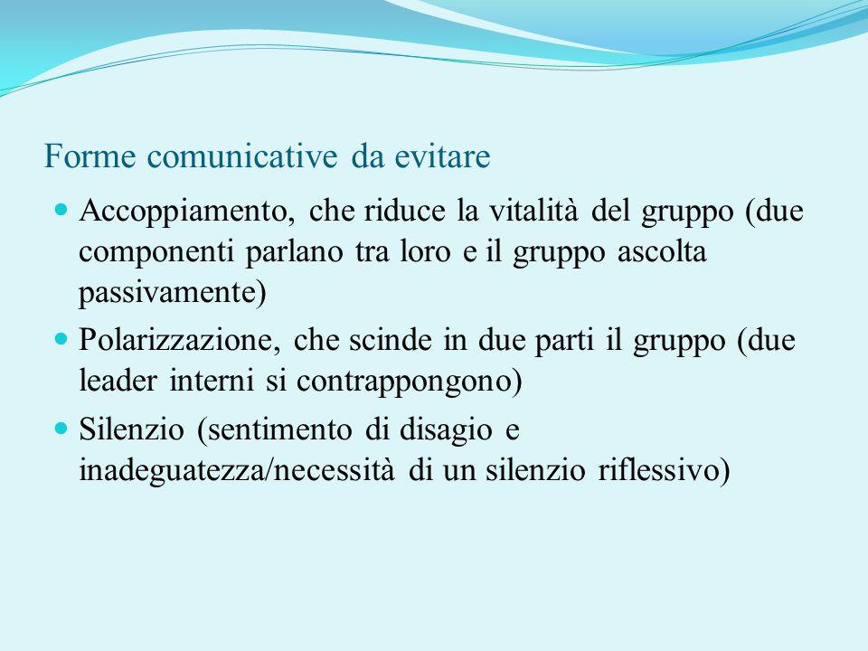 Forme comunicative da evitare