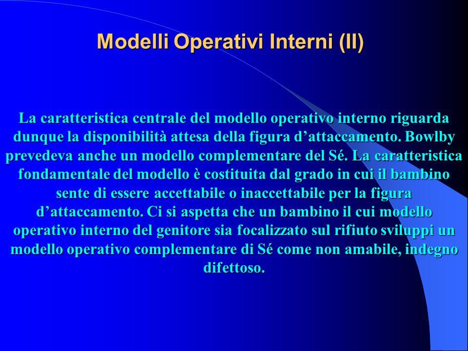 Modelli Operativi Interni (II)