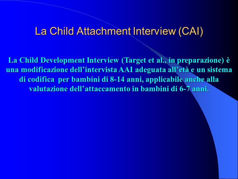 La Child Attachment Interview (CAI)