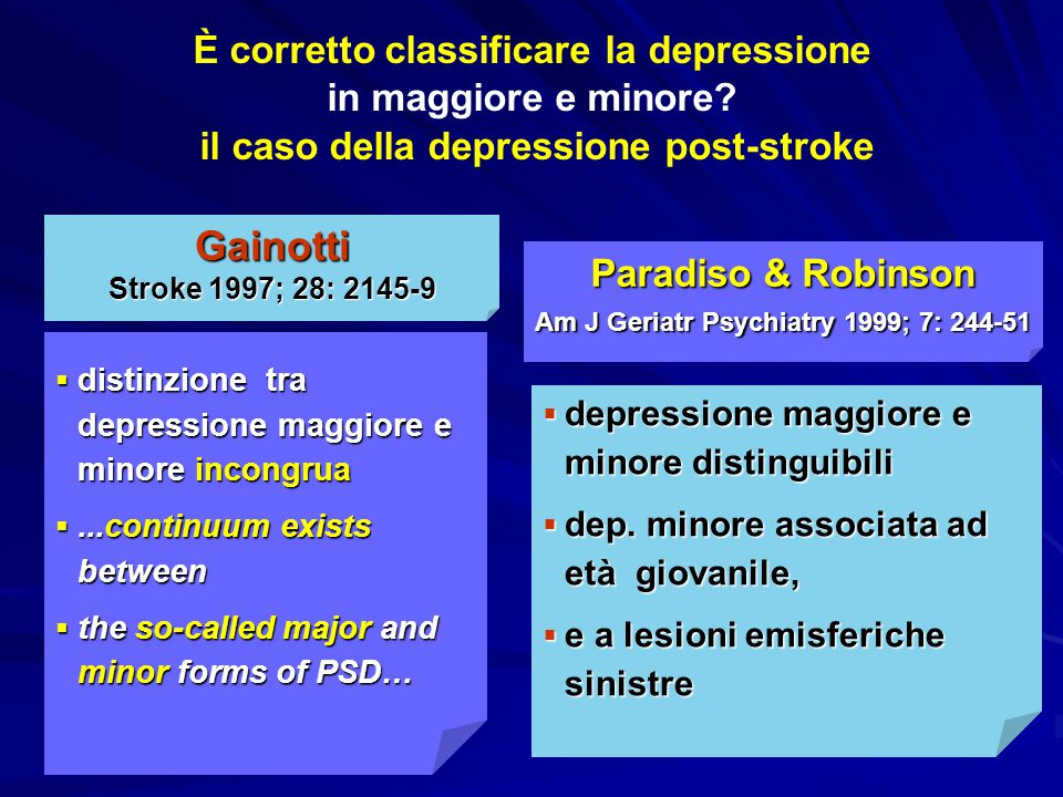 Paradiso & Robinson Am J Geriatr Psychiatry 1999; 7: 244-51