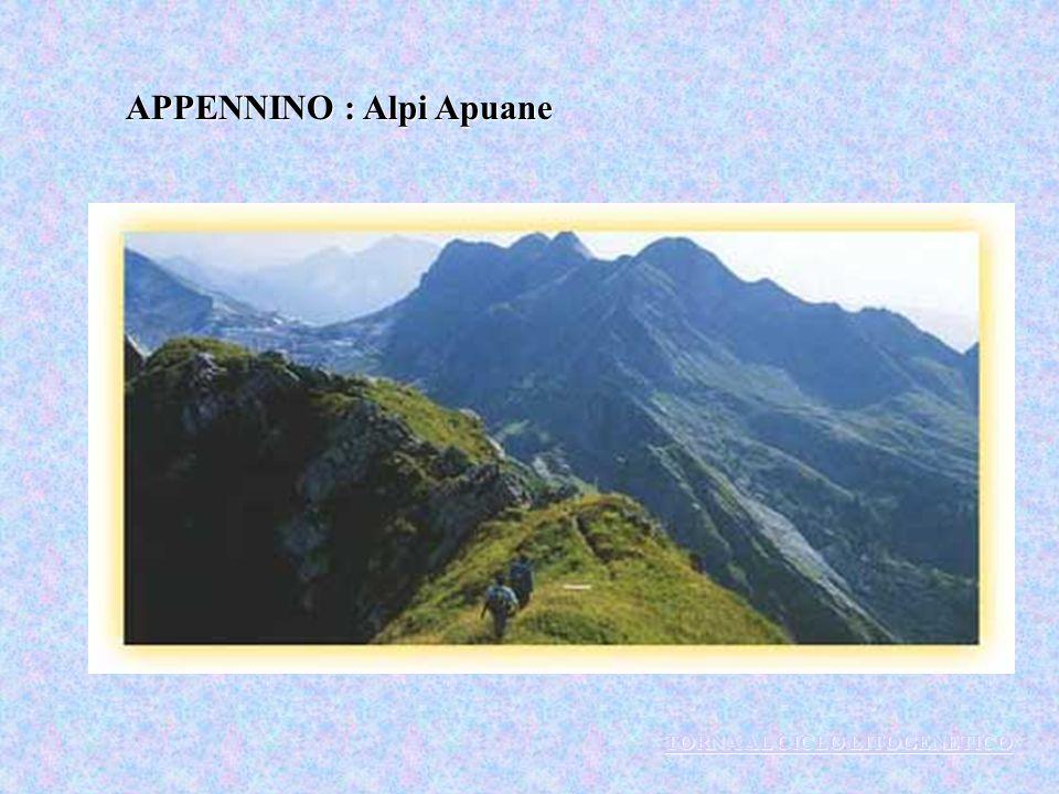 APPENNINO : Alpi Apuane