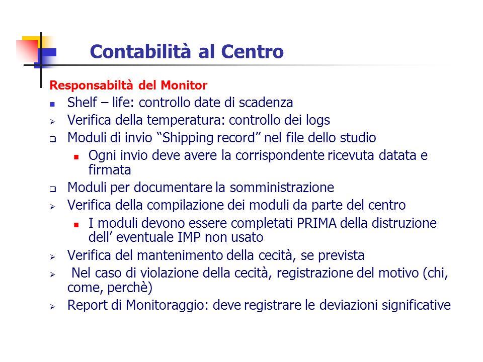 Contabilità al Centro Shelf – life: controllo date di scadenza