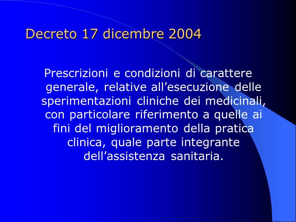 Decreto 17 dicembre 2004