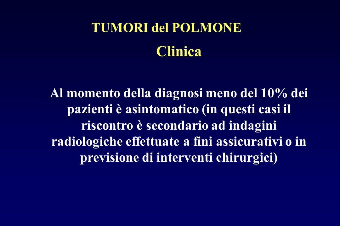 Clinica TUMORI del POLMONE