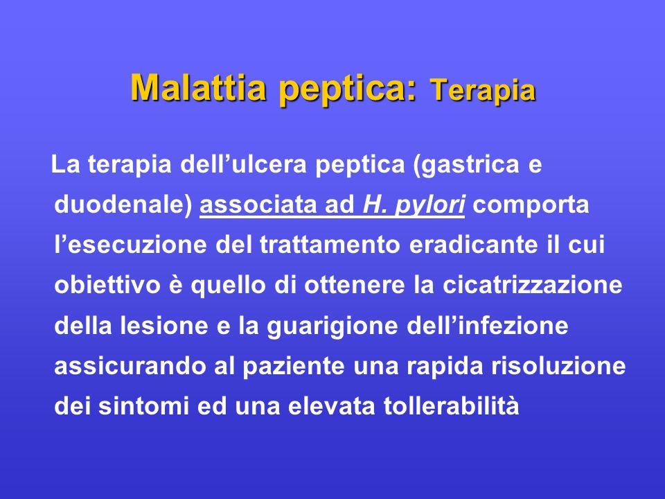Malattia peptica: Terapia