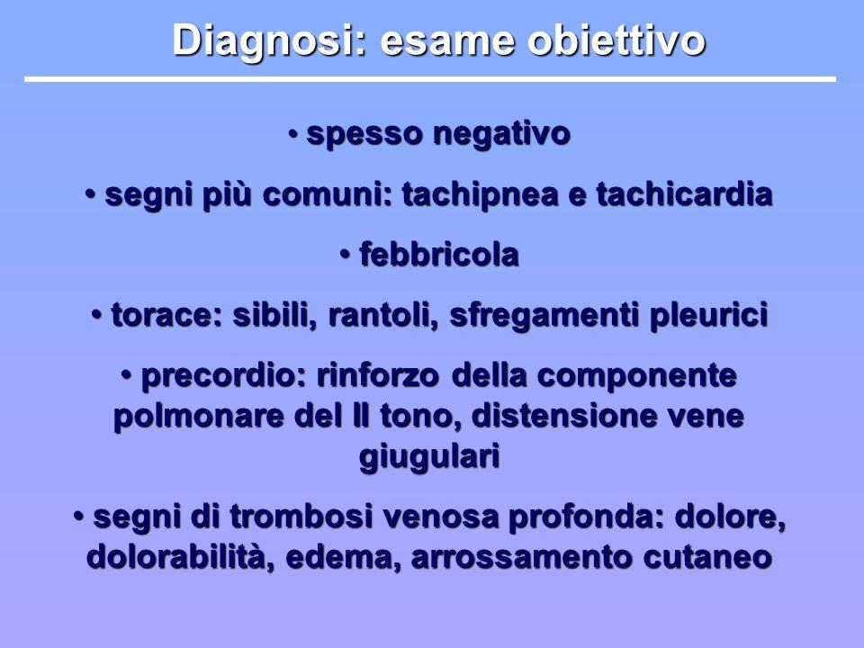 Diagnosi: esame obiettivo