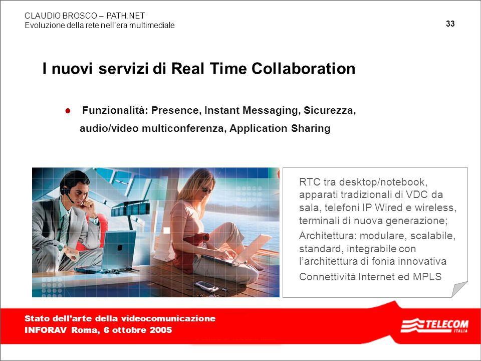 I nuovi servizi di Real Time Collaboration