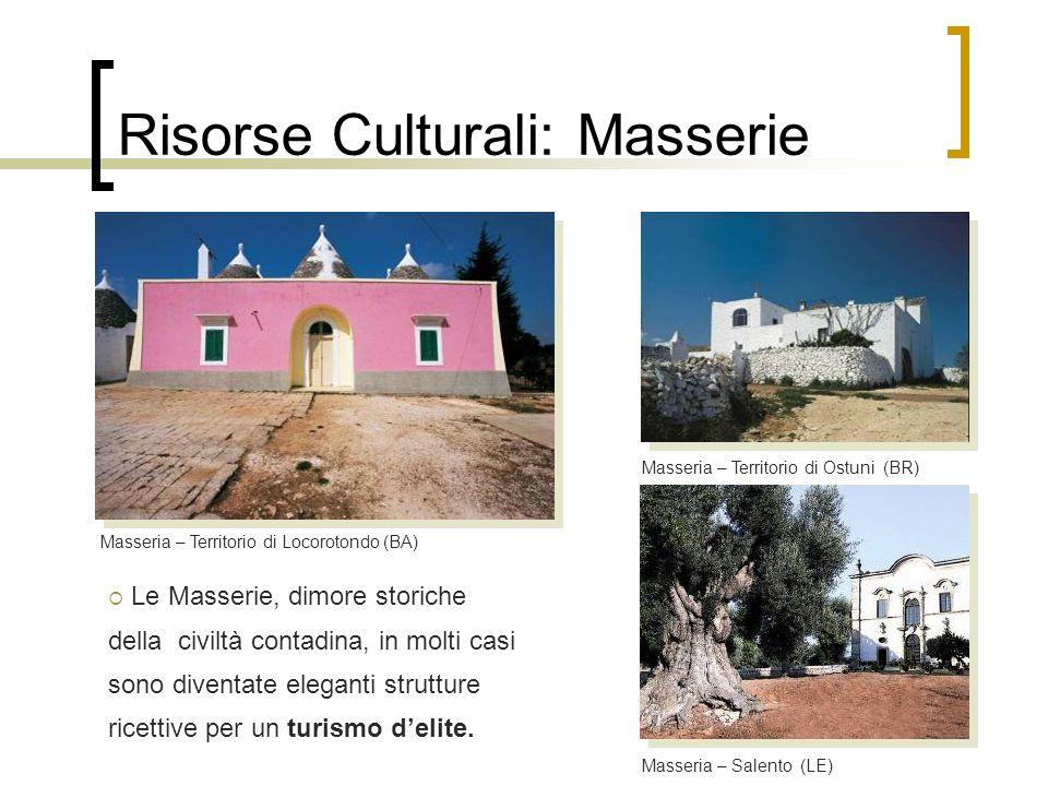 Risorse Culturali: Masserie