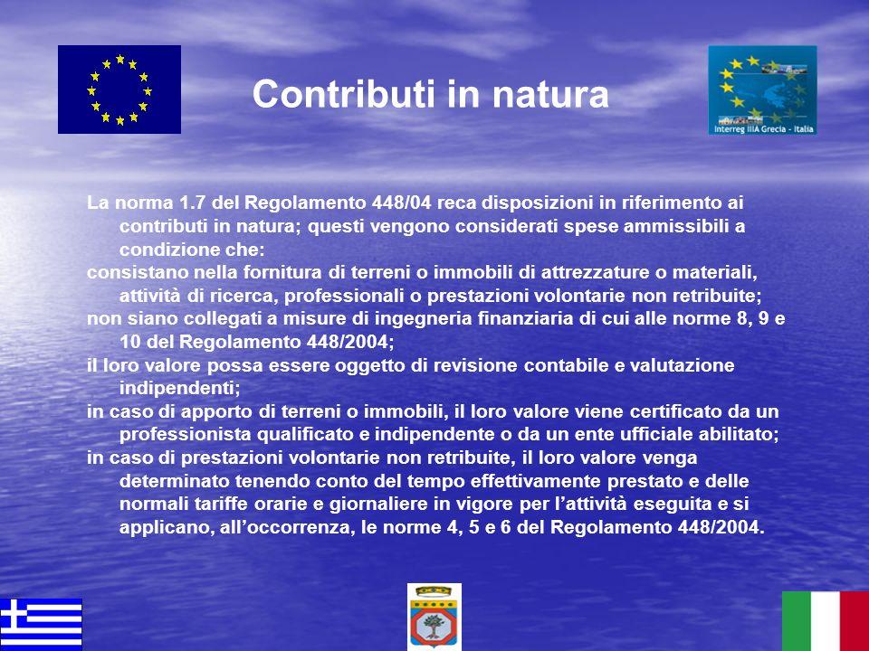 Contributi in natura