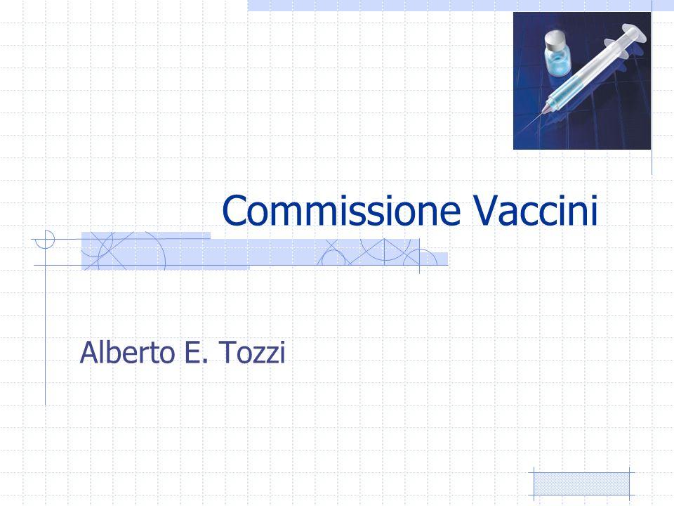 Commissione Vaccini Alberto E. Tozzi