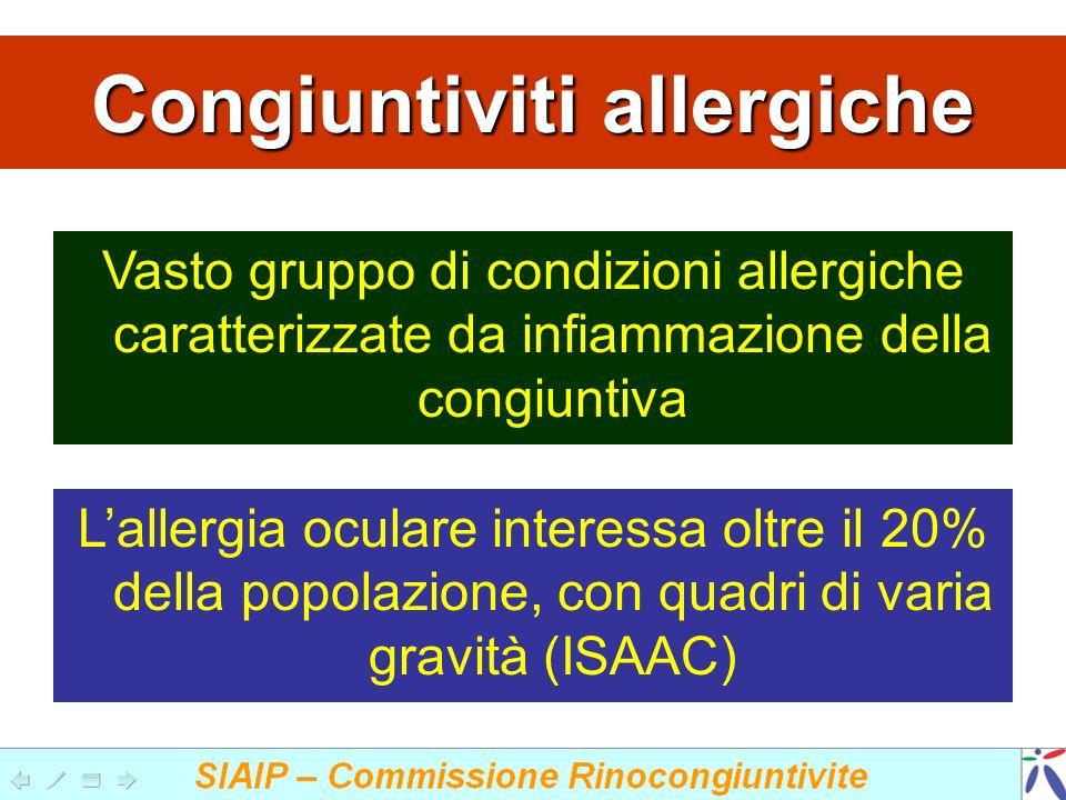 Congiuntiviti allergiche