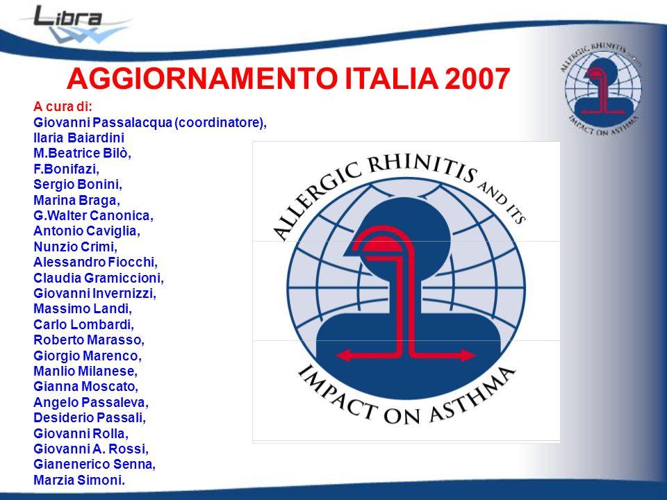 AGGIORNAMENTO ITALIA 2007 A cura di: