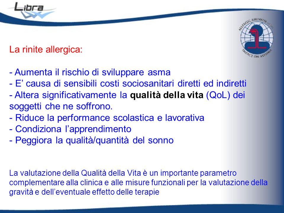 - Aumenta il rischio di sviluppare asma