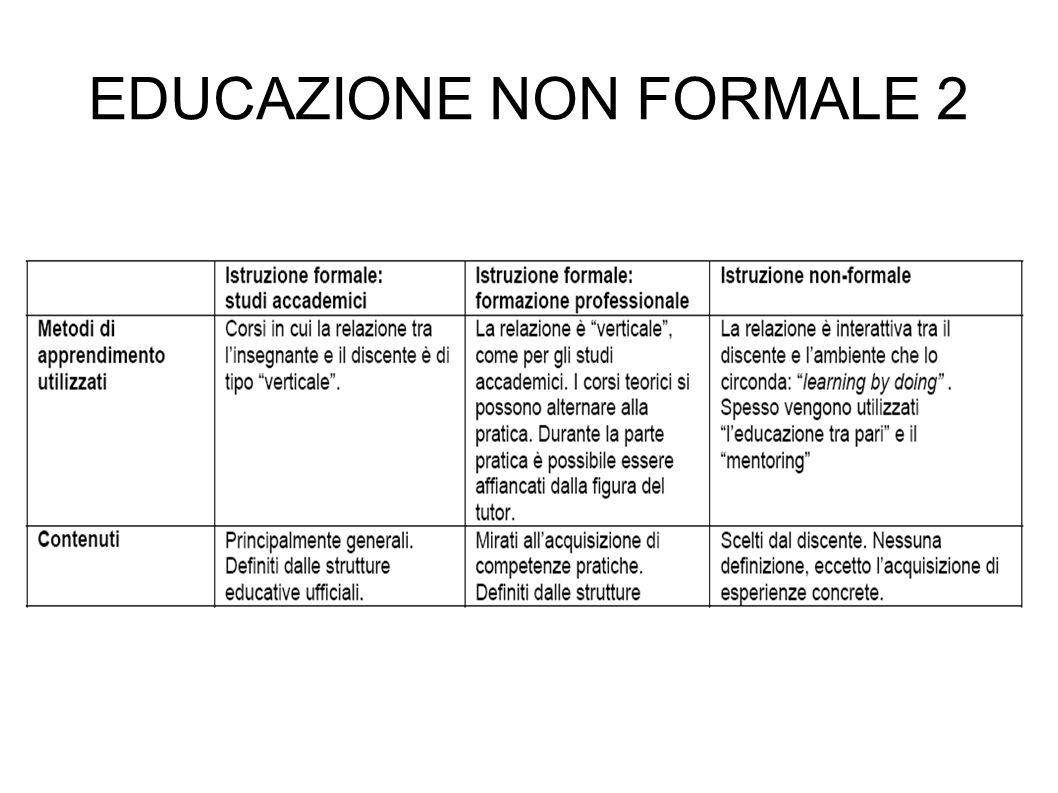 EDUCAZIONE NON FORMALE 2