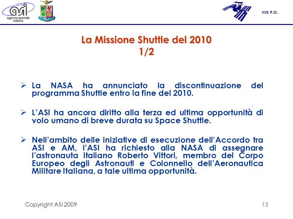 La Missione Shuttle del 2010 1/2