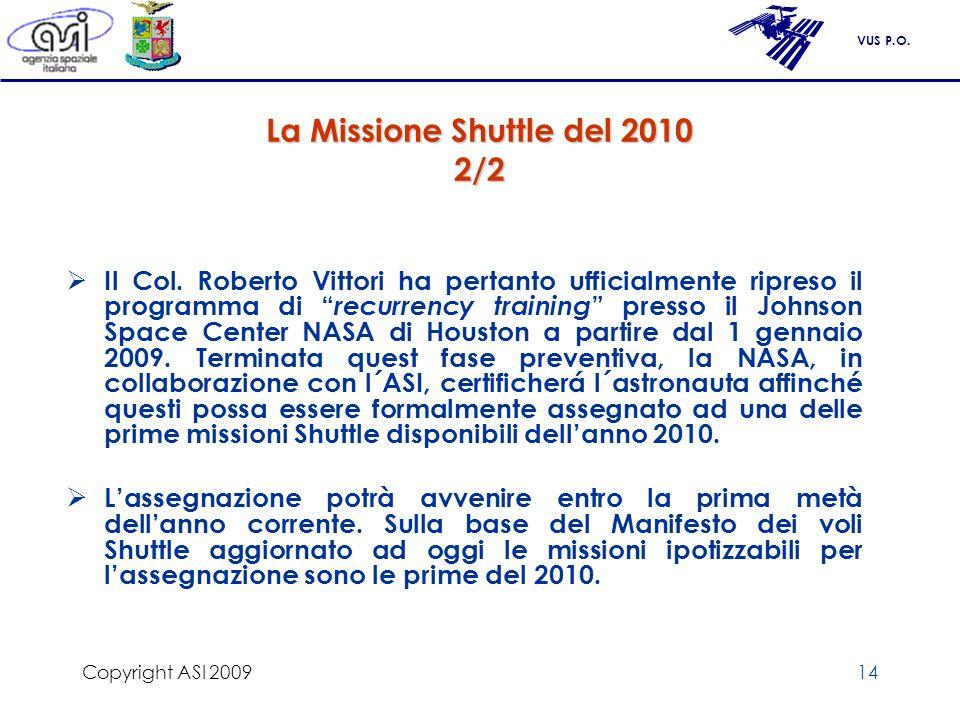 La Missione Shuttle del 2010 2/2