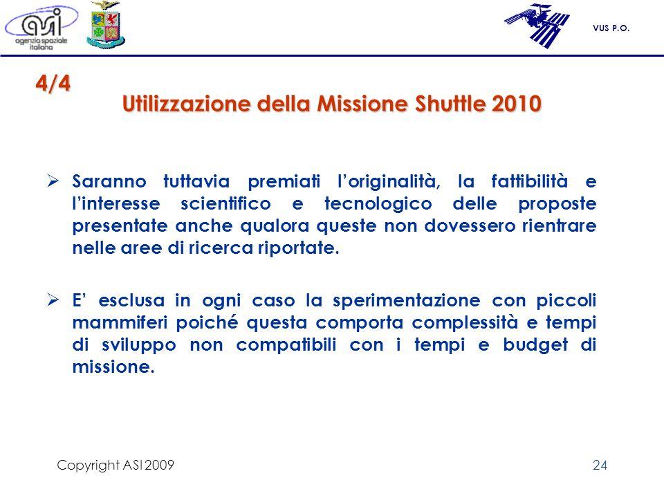 Utilizzazione della Missione Shuttle 2010