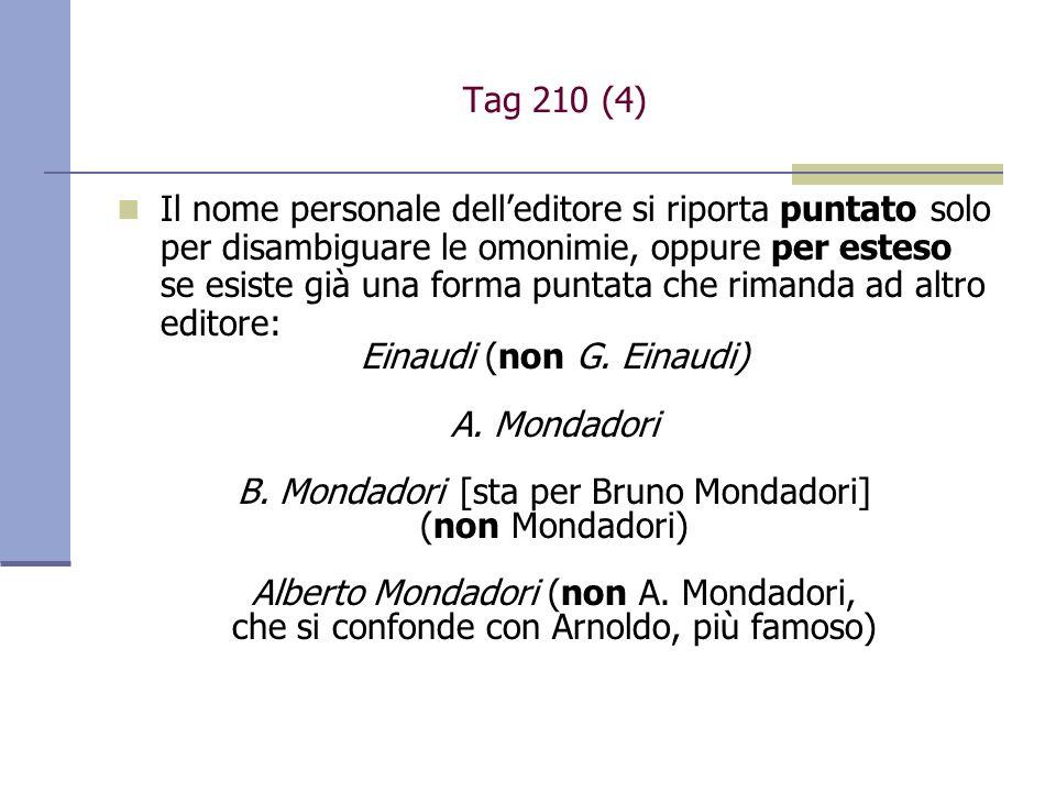 Einaudi (non G. Einaudi) A. Mondadori