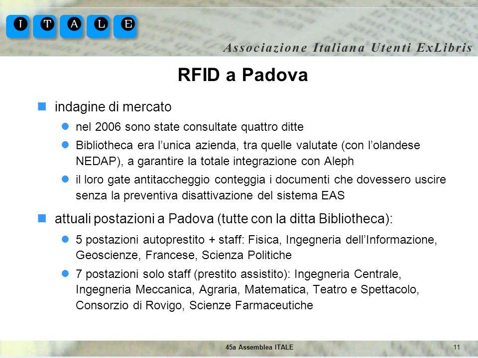 RFID a Padova indagine di mercato