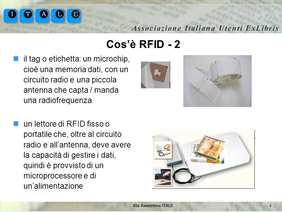 Cos'è RFID - 2