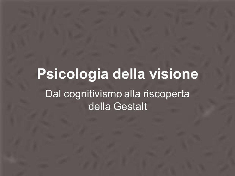 Psicologia della visione