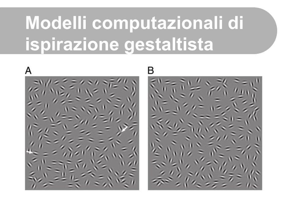 Modelli computazionali di ispirazione gestaltista