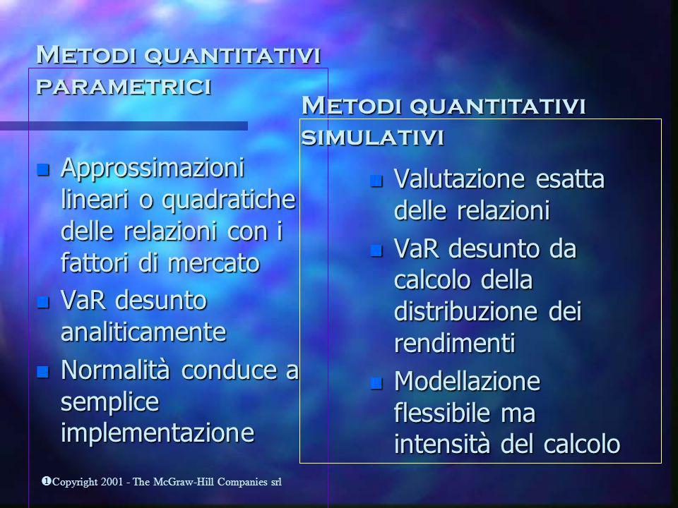 Metodi quantitativi parametrici