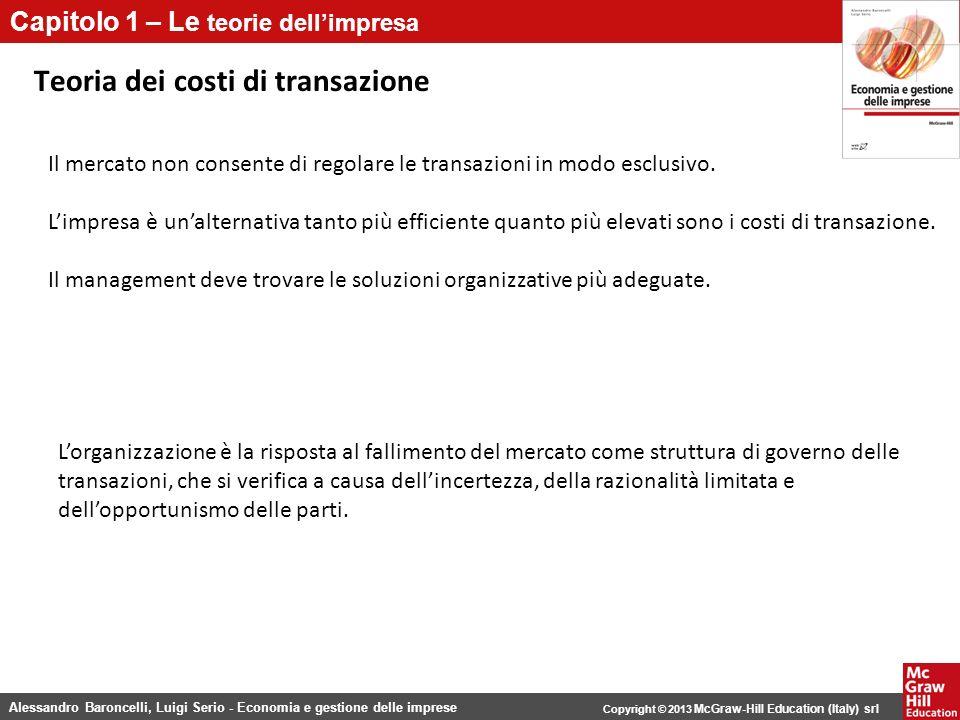 Teoria dei costi di transazione