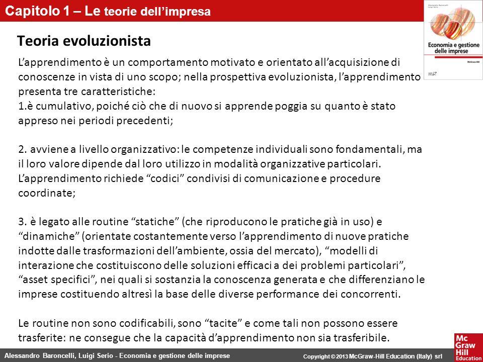 Teoria evoluzionista