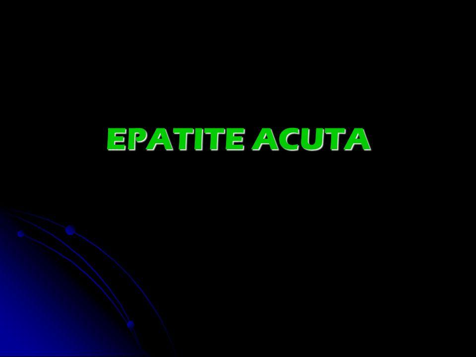 EPATITE ACUTA