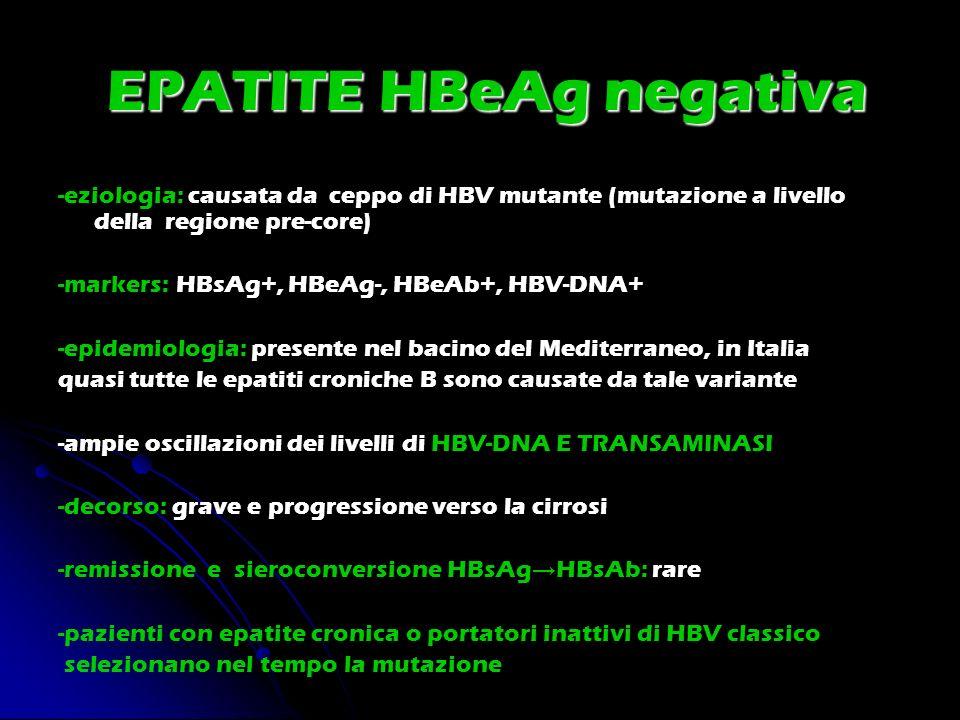 EPATITE HBeAg negativa