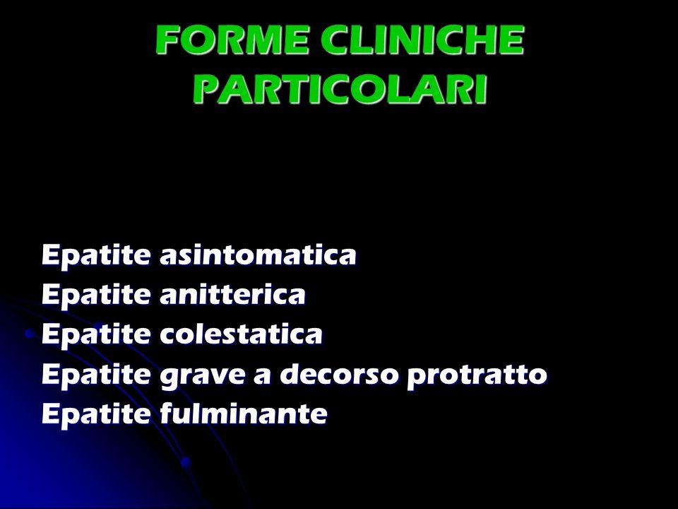 FORME CLINICHE PARTICOLARI