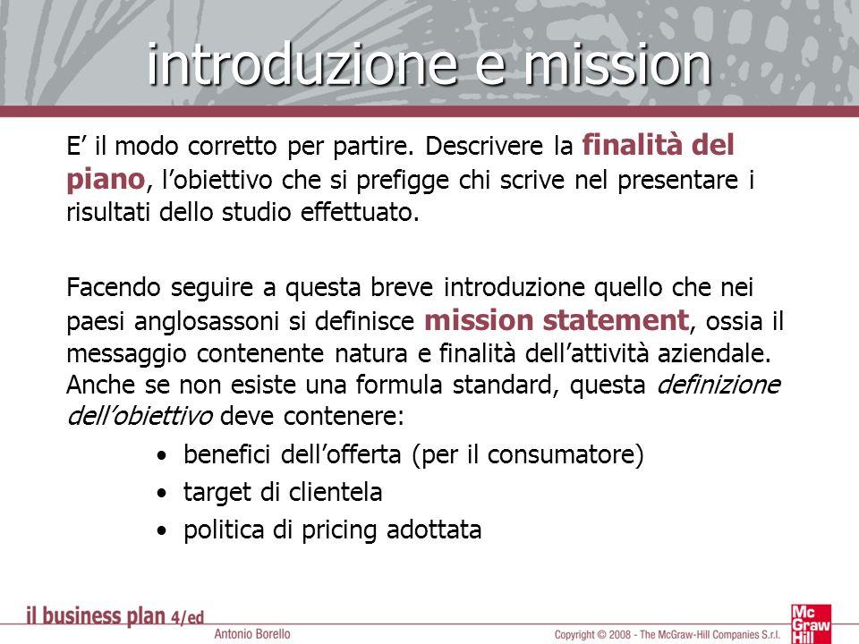 introduzione e mission