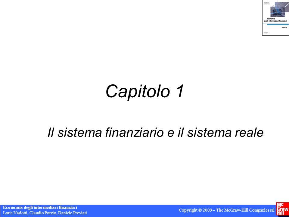 Il sistema finanziario e il sistema reale
