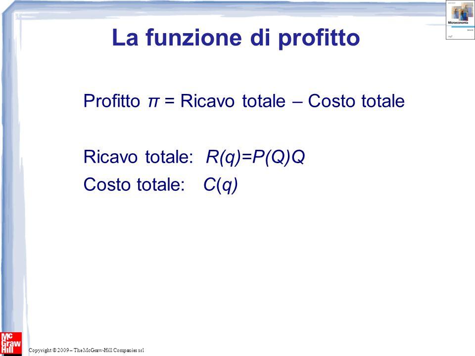 La funzione di profitto