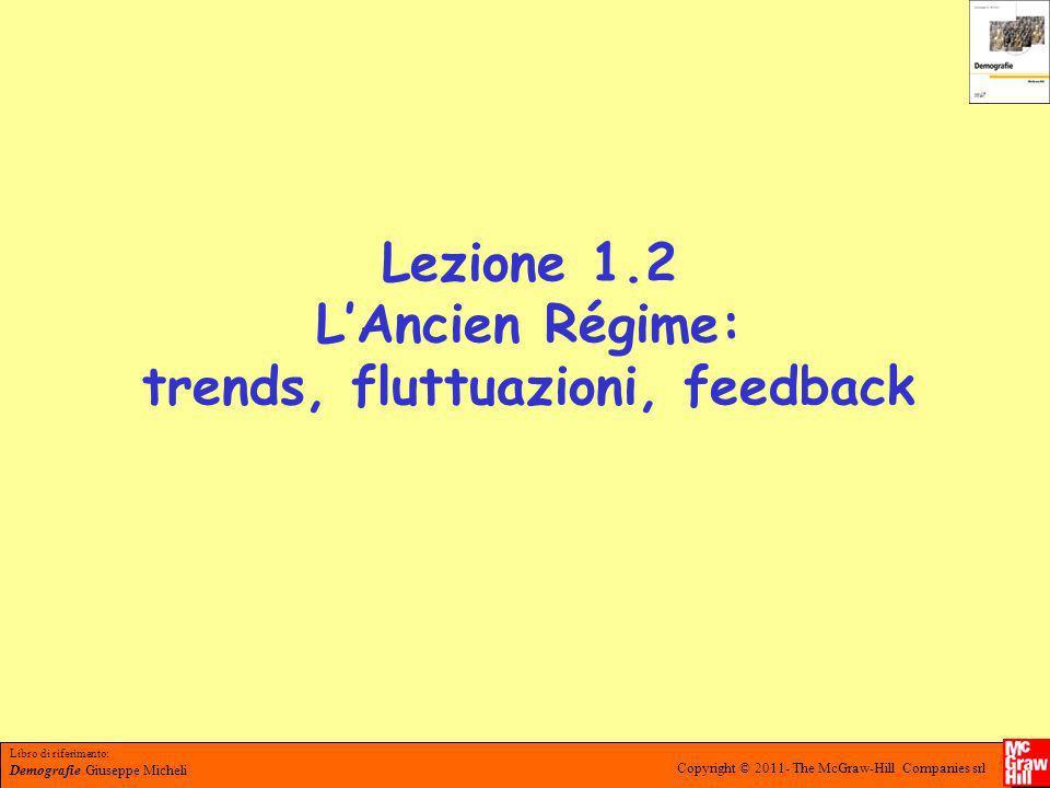 Lezione 1.2 L'Ancien Régime: trends, fluttuazioni, feedback