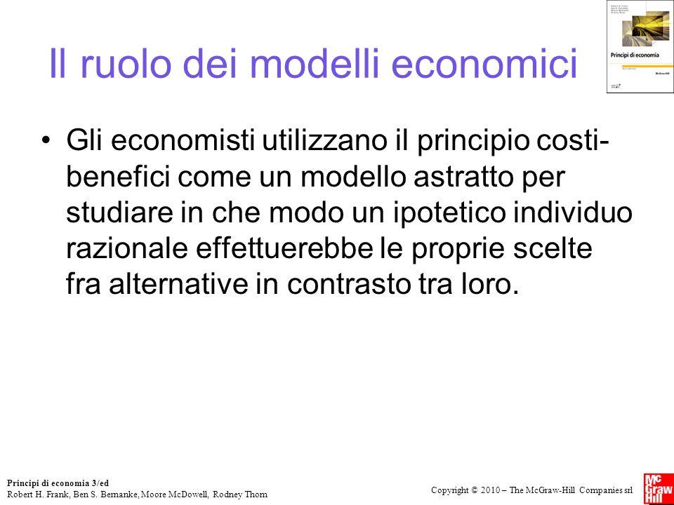Il ruolo dei modelli economici