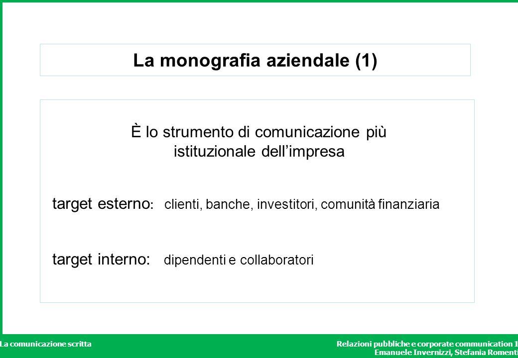 La monografia aziendale (1)