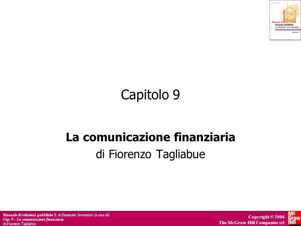 La comunicazione finanziaria di Fiorenzo Tagliabue