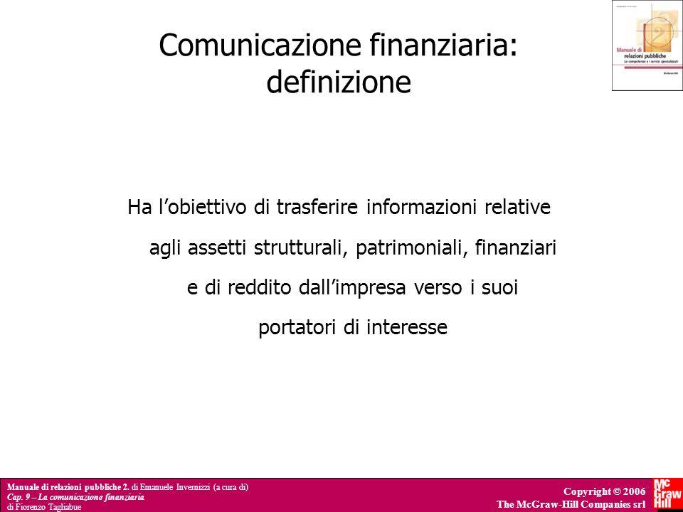Comunicazione finanziaria: definizione