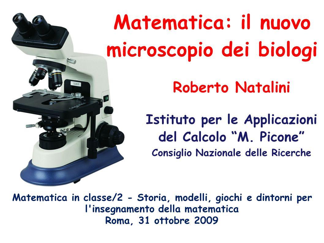 Matematica: il nuovo microscopio dei biologi