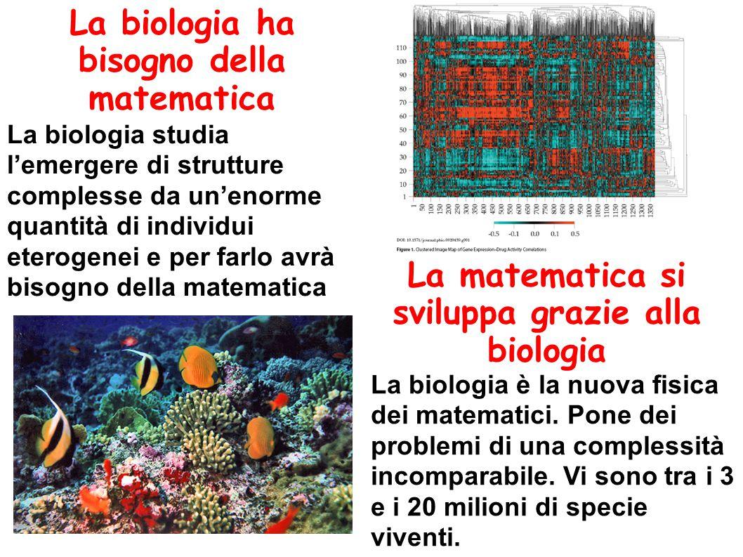 La biologia ha bisogno della matematica