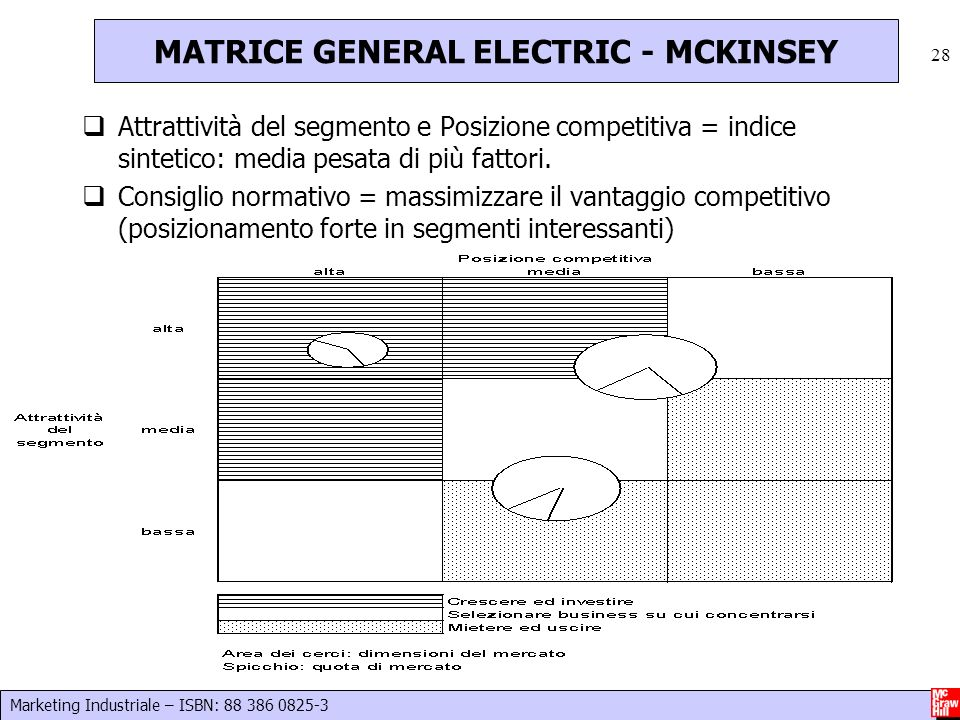 MATRICE GENERAL ELECTRIC - MCKINSEY