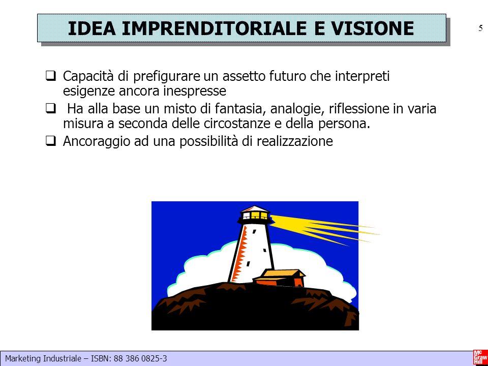 IDEA IMPRENDITORIALE E VISIONE