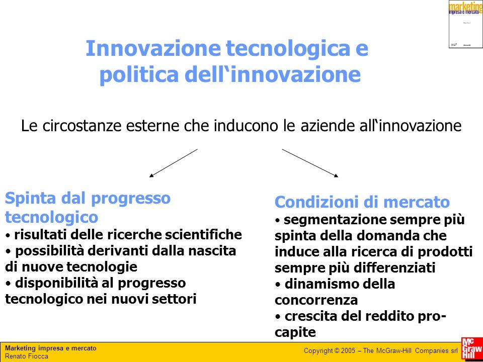 Innovazione tecnologica e politica dell'innovazione