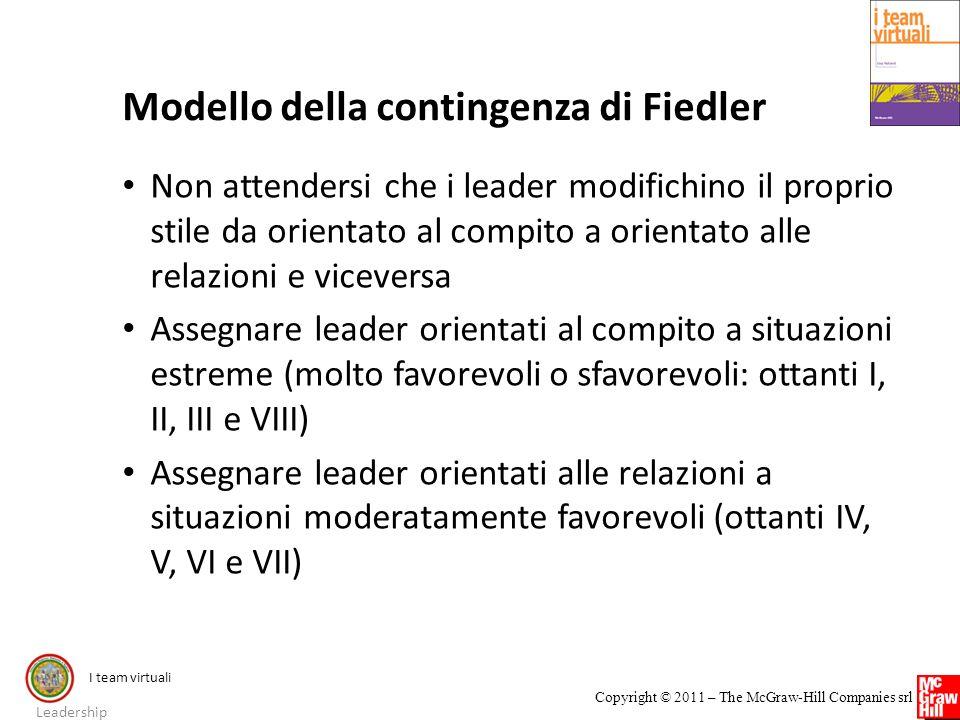 Modello della contingenza di Fiedler