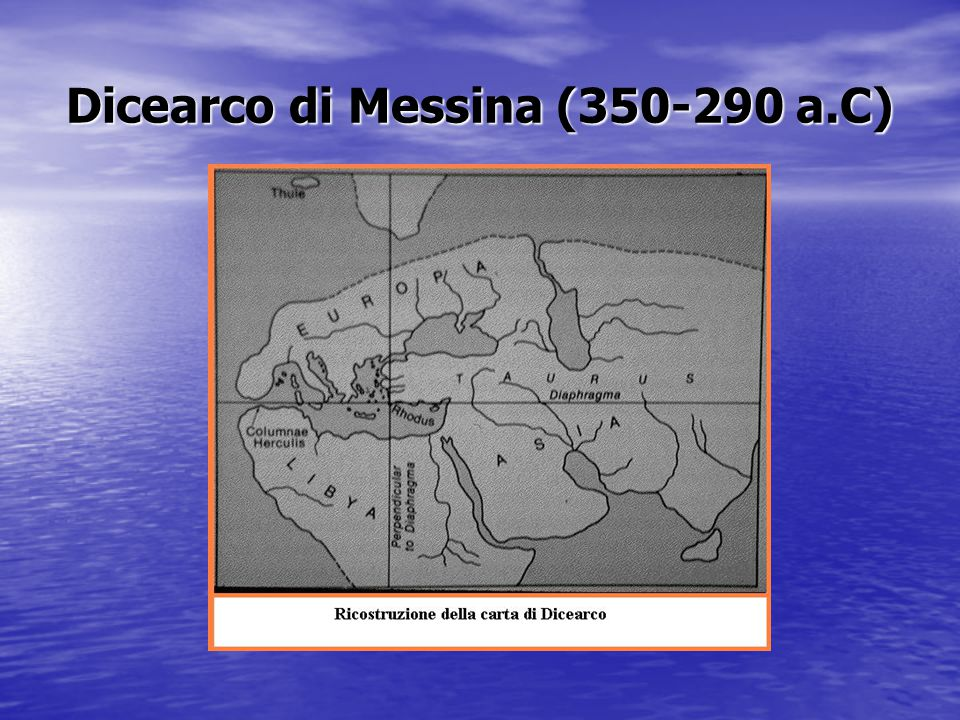 Dicearco di Messina (350-290 a.C)